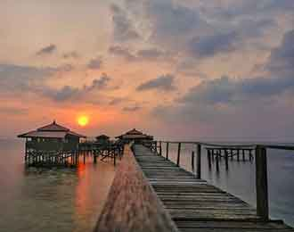pulau bidadari murah