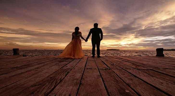 pulau kelor untuk foto prewedding