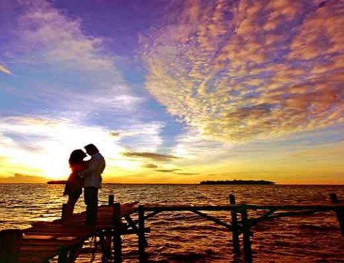 Menikmati Senja Cantik di Pulau Untung Jawa Kepulauan Seribu